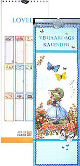 80-149X Verjaardagskalender Lovely